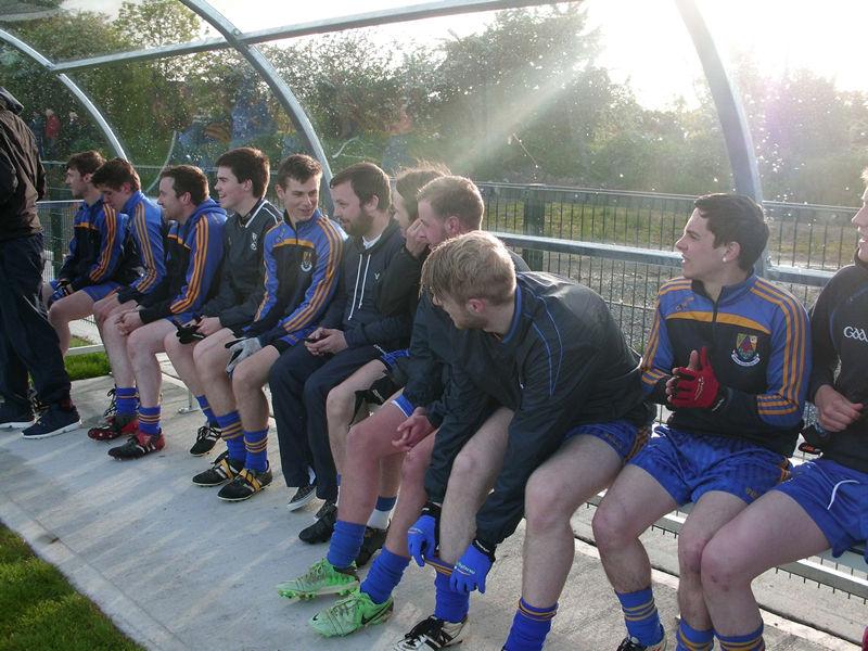 Subs bench v Denn
