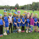 Under 9 camogie girls